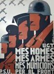 Affiche de Guerre : la guerre d'Espagne