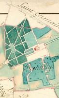 Le domaine de Rentilly avant la Révolution : le château et son jardin.