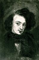 Autoportrait de Théophile Gautier.