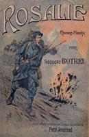 Couverture du feuillet de Rosalie, illustration de Job, 1915.