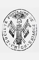 Cachet de la société populaire de Provins.