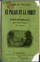 Couverture du guide de 1840, exemplaire le plus ancien conservé aux Archives départementales