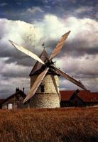 Le Moulin Choix après sa restauration dans les années 1970.