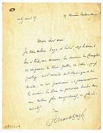 Fernand Gregh complimente le romancier Jean-Joseph Renaud .