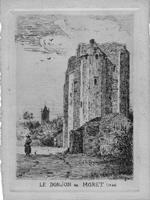 Du XIIIe au XVIe siècle, le Donjon de Moret est une prison pour hôtes d'exception.