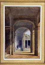 Portail de Serlio au château deFontainebleau.