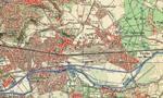 Carte de Chelles en 1945
