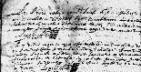 Registre paroissial d'Achères-la-Forêt