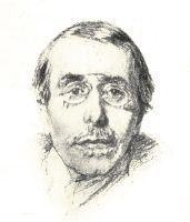 Portrait d'Elémir Bourges (1852-1925).
