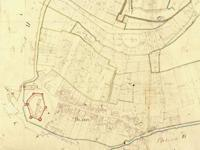 Des parcelles en lanières sont encore visibles au XIXe siècle.