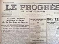 Une du Progrès de Seine-et-Marne