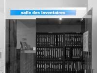 salle des inventaires aux Archives départementales.