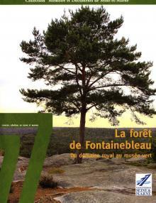 """Couverture de l'ouvrage """"La forêt de Fontainebleau"""""""