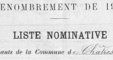 Liste du canton de Tournan en 1906.