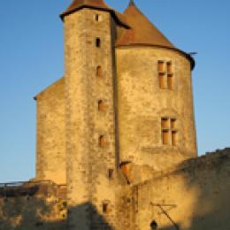 La tour des archives du château de Blandy-les-Tours