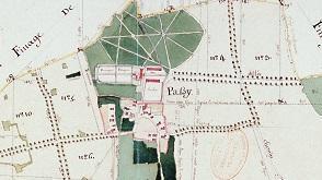 Plan d'intendance, Passy-sur-Seine, fin du XVIIIe siècle.
