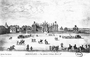 Le château de Montceaux, aménagé par Philibert Delorme.