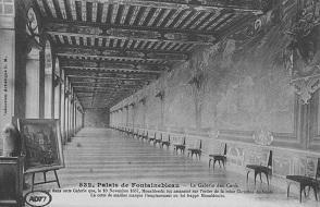 La galerie des Cerfs, en partie décorée par Louis Poisson.