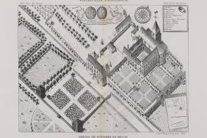 Les bâtiments de l'abbaye.