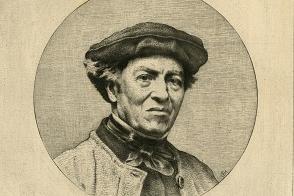 Camille Corot. Estampe
