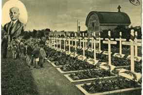 Carte postale : domaine de Moussy-le-Vieux, cimetière des Gueules Cassées