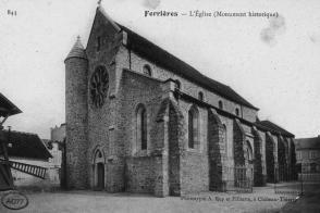 L'Église Saint-Rémy est édifiée au Xe siècle.
