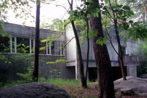 La façade du musée en 1982