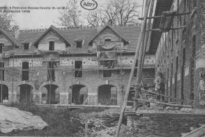Maison de retraite des artistes dramatiques, en travaux avant l'ouverture.