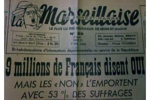 La Marseillaise de Seine-et-Marne, 7 mai 1946