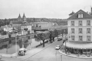Les bords de Seine à Melun.