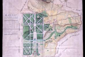 Plan d'intendance de la paroisse de Maincy