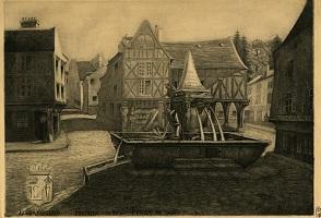 La Fontaine dite de Saint-Fursy.