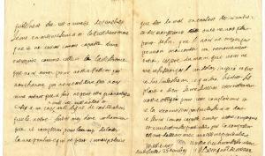 Lettre adressée par Bossuet à « ces messieurs du présidial de Meaux », à Versailles le 25 novembre 1699.