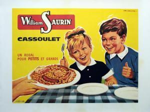 Une affiche de publicité emblématique William Saurin