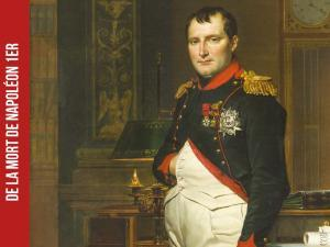 Détail du tableau Napoléon Ier dans son cabinet de travail des Tuileries par Jacques-Louis David