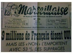 La Marseillaise de Seine-et-Marne, 7 mai 1946 (AD77, 1795W93)