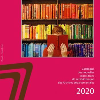 Couverture du catalogue des nouvelles acquisitions 2020