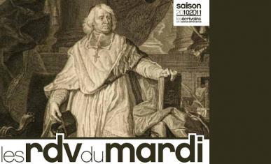 Couverture du flyer de la conférence de Jean-Michel Delacomptée sur Bossuet