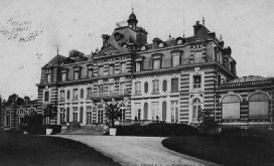 Façade nord du Château de Rentilly, après les agrandissements.