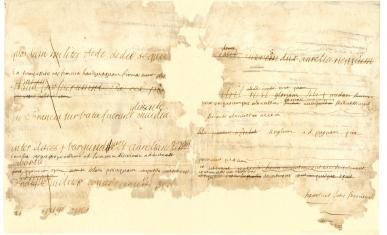 Devoir en latin du Grand Dauphin, corrigé par Bossuet, pages 3 et 4