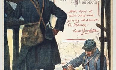"""Journée du Poilu 1915""."