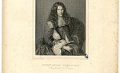 Portrait de Nicolas Fouquet, d'après le tableau de Sébastien Bourdon.