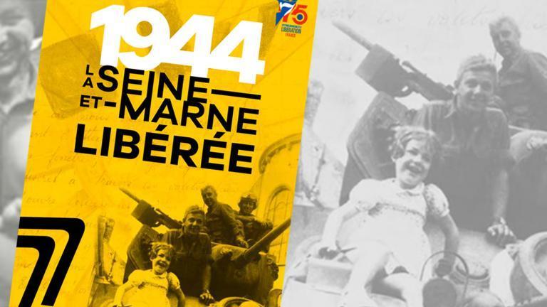 """Couverture de la publication """"1944, la Seine-et-Marne libérée"""""""