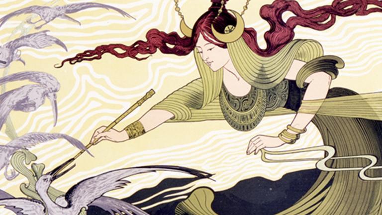 Détail de l'affiche de Cendrillon de Massenet