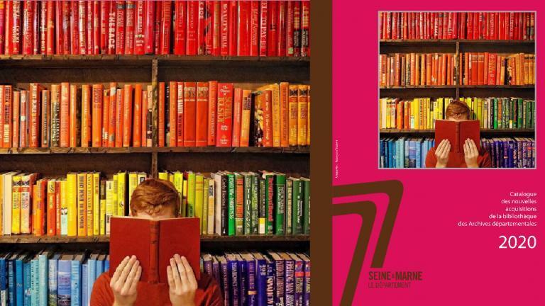 Visuel et couverture du catalogue des nouvelles acquisitions 2020