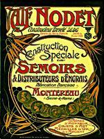 Le catalogue de la société Nodet-Gougis de Montereau.